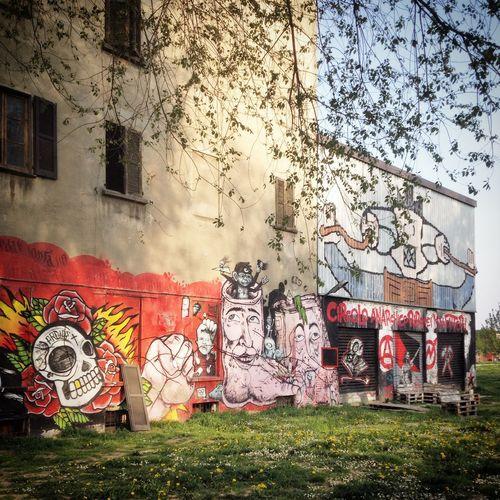 Buden Powell Park Milan Navigli Outdoor Park Street Art
