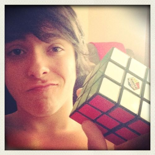 Solved A Rubik's Cube.