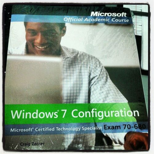 My next course! Windows7 Nerdalert LikeABOSS