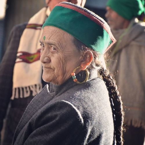 Traditional Himachali Shimla Woman Headcap Topi Revo Revoshots Revoshotsphotography Itravel IStop Ilook IExplore Iphotograph IAmRevo BeingRevo ExploringUnknown