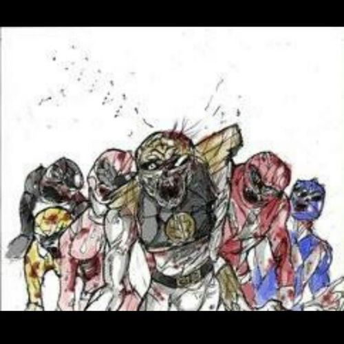 Power Rangers Zombies  Word lol imagine haha