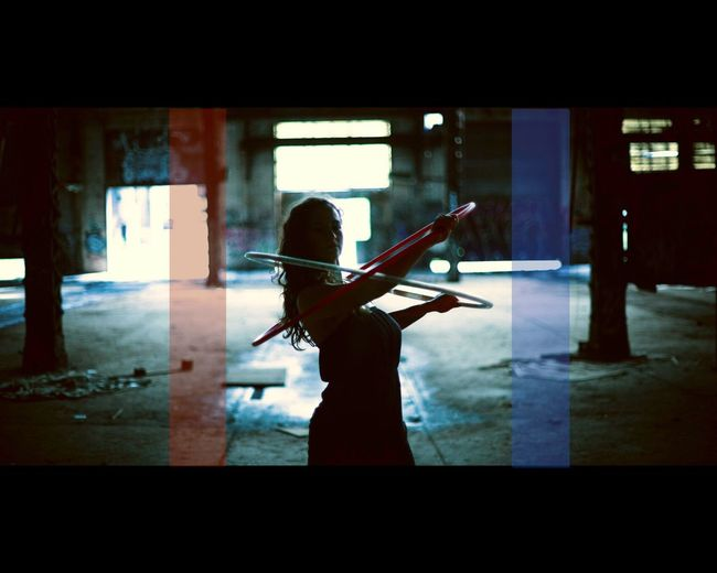 Red Blue Artist Holahoops Portrait Cityscapes Point Of View EyeEm Best Edits Dancer EyeEm Best Shots Artistic Inspire Eye4photography  Light And Shadow Cinematic ExpressYourself Dynamic Art Photography Capture The Moment Performance Movement Performer  Performing Arts Portrait Of A Woman Great Atmosphere