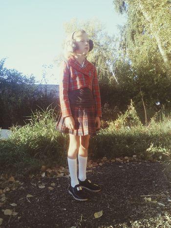 Hello World Mygirl♥ Beautiful Morning Gotoschool