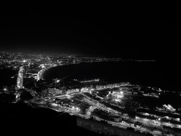Night High Angle View Agadir Morocco Citynightlights No People Water Lights Tafraout First Eyeem Photo