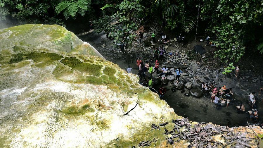 Hotsprings Tinggiraja Simalungun INDONESIA Nature Panoramic Landscape