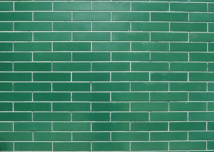 Temple wall Urbanphotography Urban Green Emerald Order High Angle View Urban Geometry Perspective Brick Backgrounds Textured  Full Frame Close-up Green Color Seamless Pattern Geometry Architectural Detail Pattern Wall - Building Feature Brick Wall Tile In A Row Marbled Effect