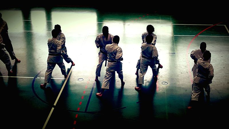 Ultimate Japan Martial Arts Black Belt Black Belt Testing  Advanced Karate Training Time Kumite High Contrast Japanese  Olympic Tokyo2020