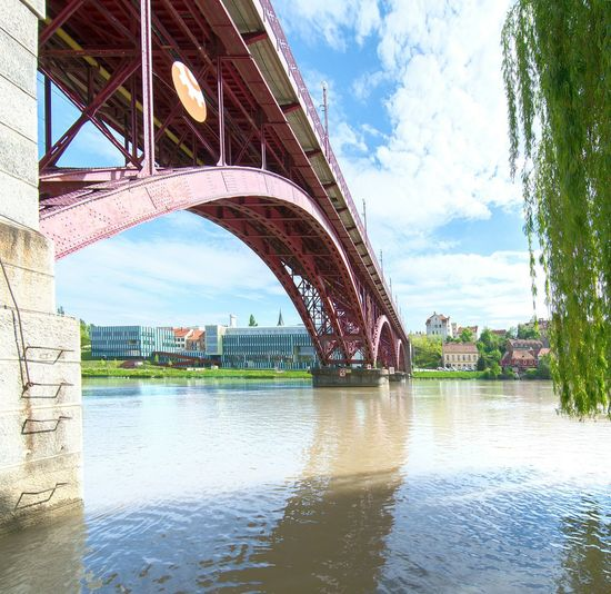 Bridge Bridge - Man Made Structure Arhitecture Arhitekture City Cityscapes River Riverside Relaxing Enjoying Life Beautiful Peace And Quiet Sky Traveling Nikon Photographer Moments Travel Photography Bestoftheday OpenEdit Cityscape Photography Art Phtography Check This Out