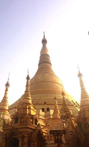 The Shwedagon Pagoda from Myanmar🙇♂️🙇♀️_/\_ Myanmar Pagoda Golden Shine Bright