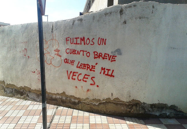 Architecture Communication Poesia Poesia Urbana Poetry Poetryisnotdead Poetryofthemoment Proverb Street Art/Graffiti Text Walls Frases Frases Hermosas Amor Love