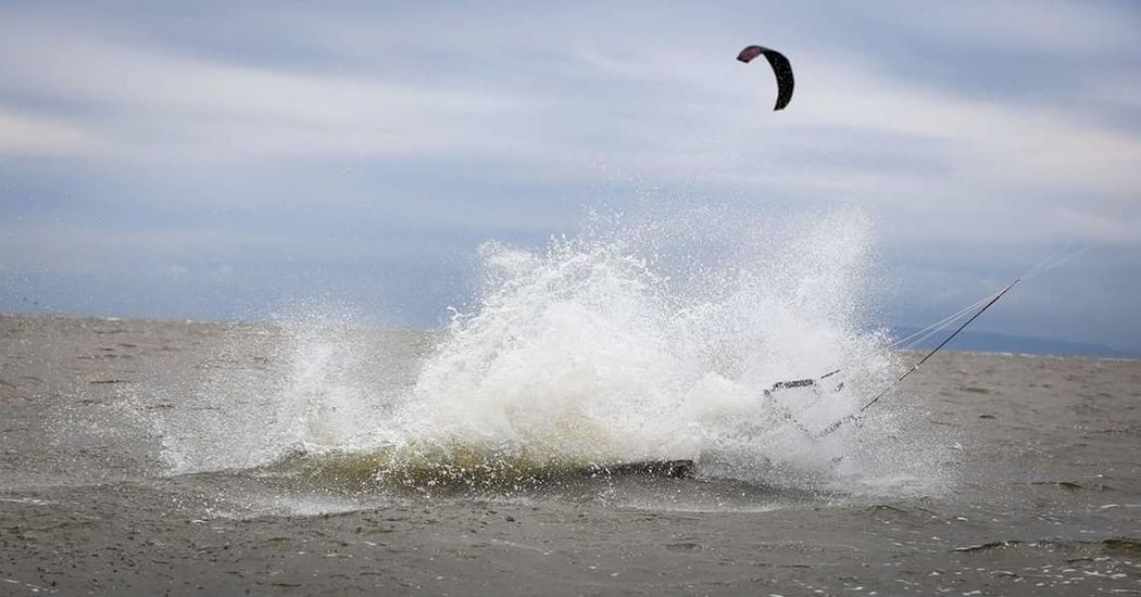 Kite Gusty Wind Sea Canon Slingshot Winter Mystic Kitesurfing Incontrol Vladivostok Rpm Rally Splash VL Vladivostok