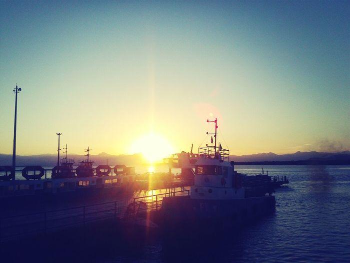 Pôr do sol lindo! Viagens... *--*