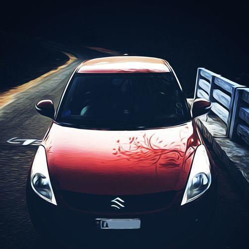 EyeEm Selects Car Evening Outdoors Street Paint Edit Black Background