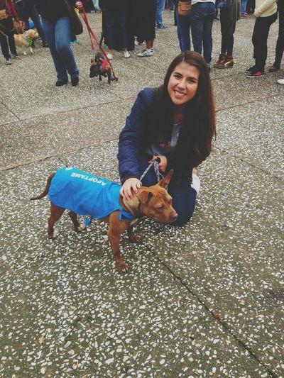 Dona un paseo domingoen4patas ella es Cleo, tiene un año y necesita un hogar :33 contacto: koncientizado@hotmail.com en Mexico, D.F. Pitbull