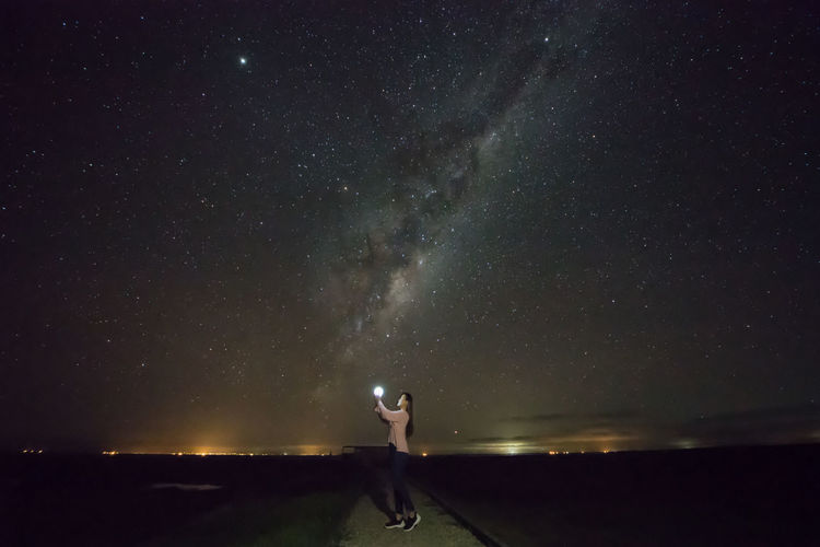 Beauty In Nature Galaxy Milkyway Nature Newzealand Night Nzphotography Outdoors Panther Scenics - Nature Sky Space Star Star - Space