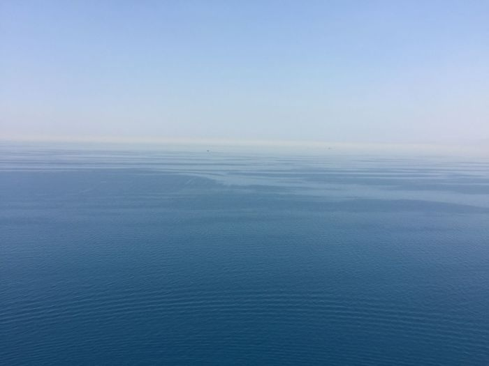 Water Sea Scenics - Nature Beauty In Nature Tranquility Sky Tranquil Scene Horizon Blue No People Cloud - Sky Nature Idyllic Day Horizon Over Water Copy Space Outdoors Seascape Urban Skyline Red Sea Red Sea,blue Water