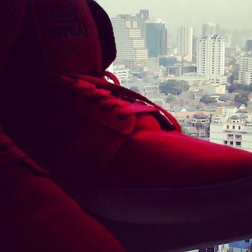 New Red Supras! Woot  Supraman Redbandit