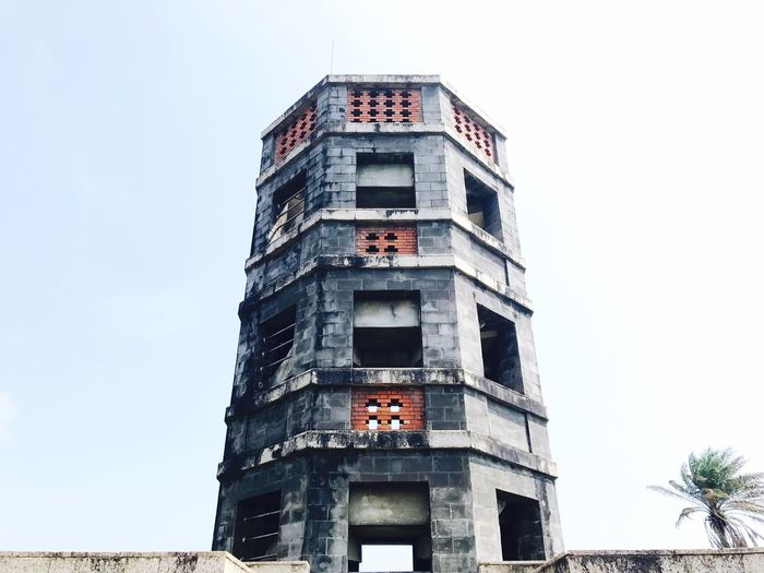 Clear Sky Yilan, Taiwan Traditional Building Ocean View Octagonal Building First Eyeem Photo Historical Building