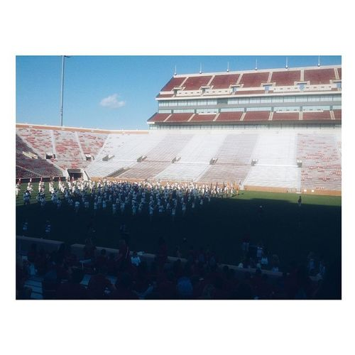 first game is tomorrow but i'm going home instead OU Ou2018