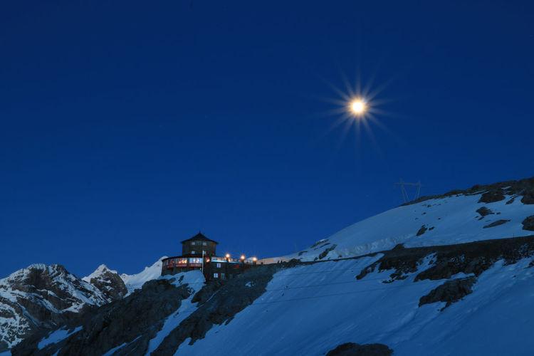 Night at Stelvio Pass Mountain View Mountain Mountains And Sky Outdoors Scenics - Nature Stelvio Stelvio Pass Stelviopass