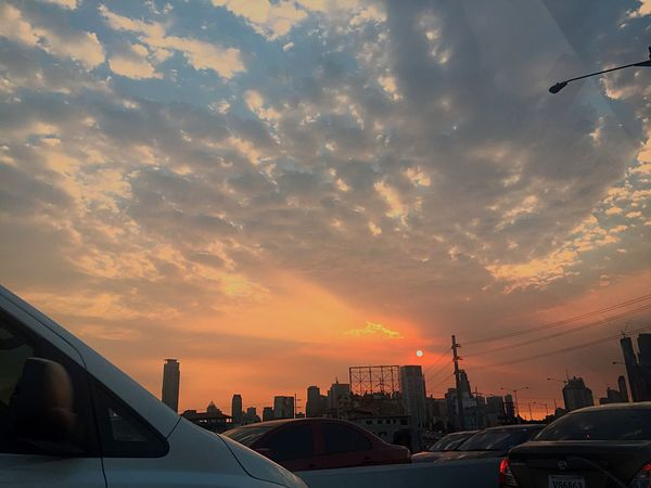43 Golden Moments Clouds And Sky Clouds Cityscapes Eyeem Philippines City Sunset City Traffic Jam Traffic Makati Sunset