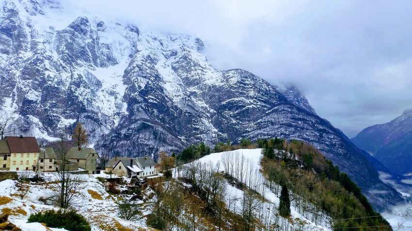 Mountain Day Winter Snow Outdoors Sky Nature No People Cold Temperature Beauty In Nature