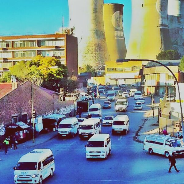 #BloemfonteinCityDownTown #FaDa Land Vehicle Car City Life Traffic Street Architecture Building Exterior