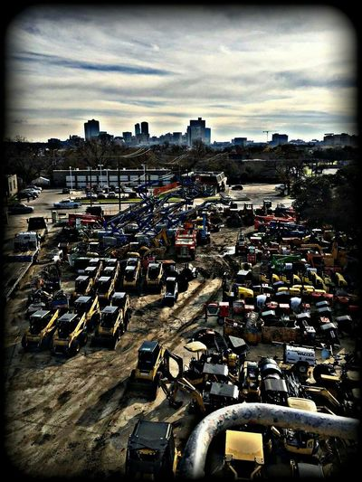 Man's Playground... Big Toys For Big Boys Tractor Daze It's A Man's World View From Up Above