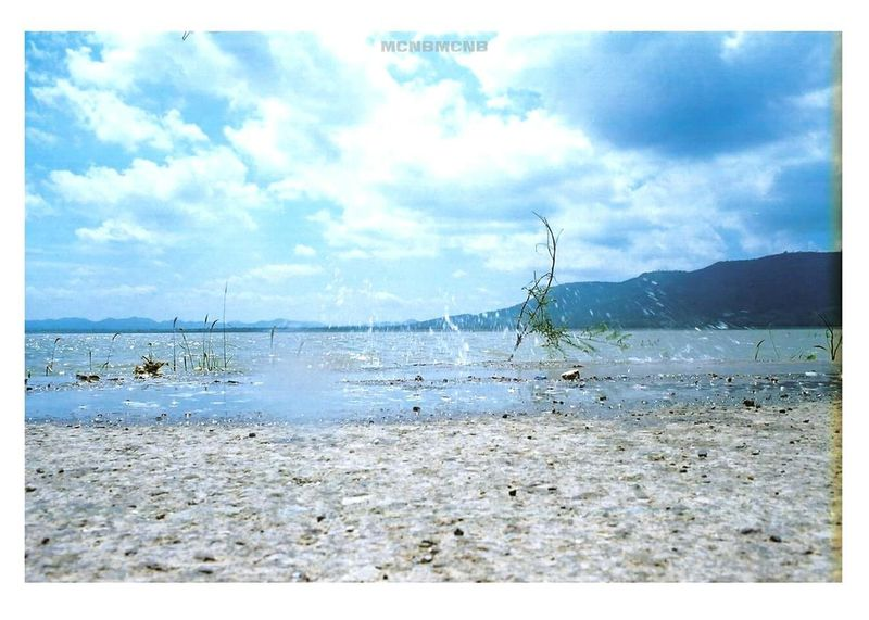 Olympusom2 Flimcamera Lagoon Water Flimphotography Kodakcolorplus200