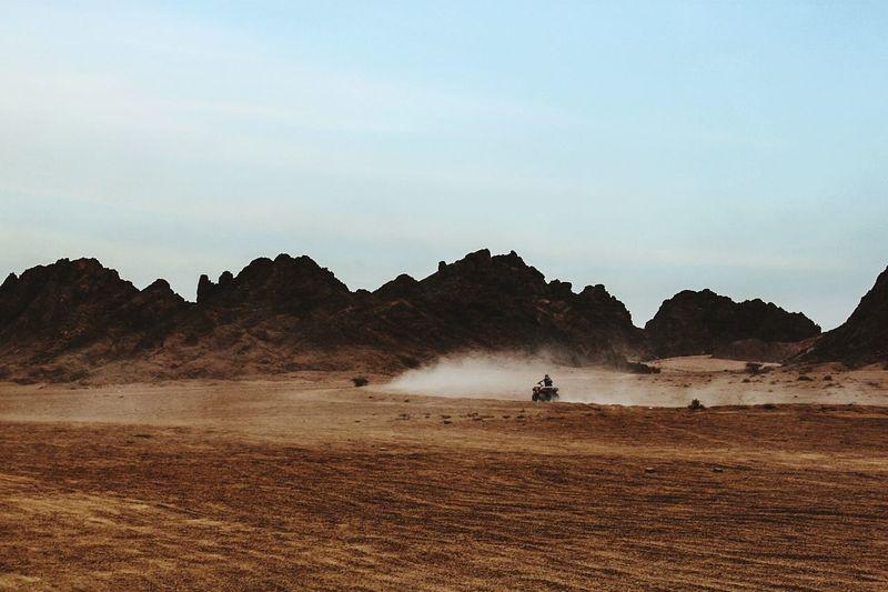 The Sinai desert Desert Enjoying Life Hello World Quad Bike Quadro Racing Time Quad Biking Racing Drivers Desert Racing Desert Road Desert Rally Desertsafari Desertlife Sand Dune Desert Landscape Desert Mountains Sand