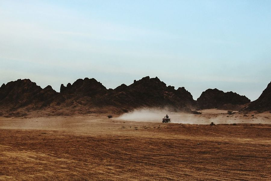 The Sinai desert Desert Enjoying Life Hello World Quad Bike Quadro Racing Time Quad Biking Racing Drivers Desert Racing Desert Road Desert Rally Desertsafari Desertlife Sand Dune Desert Landscape Desert Mountains Sand