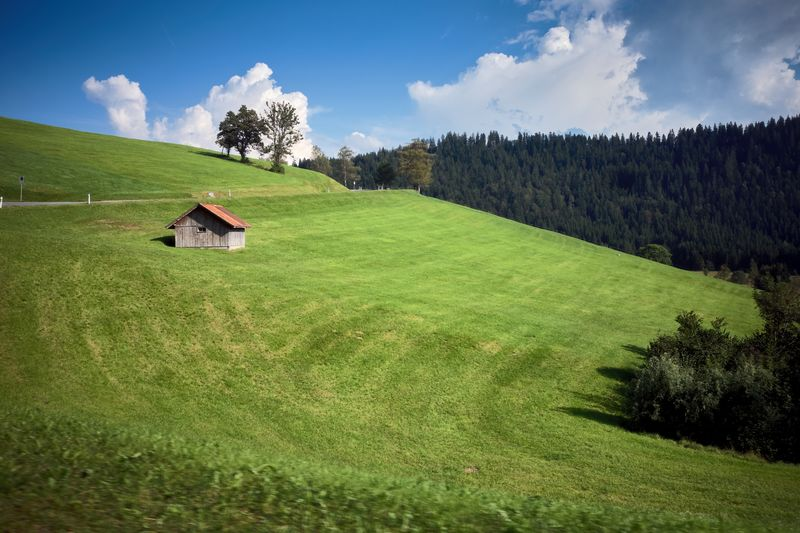 Colourful Switzerland Iconic Magic Europe Countryside Switzerland Plant Sky Green Color Land Field Built Structure Tree Building Architecture House Scenics - Nature Growth Building Exterior Nature Environment Landscape Beauty In Nature No People Cloud - Sky Day
