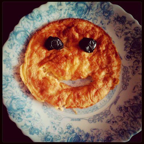 Egg Omelette Kitchen Funnyfood #olive