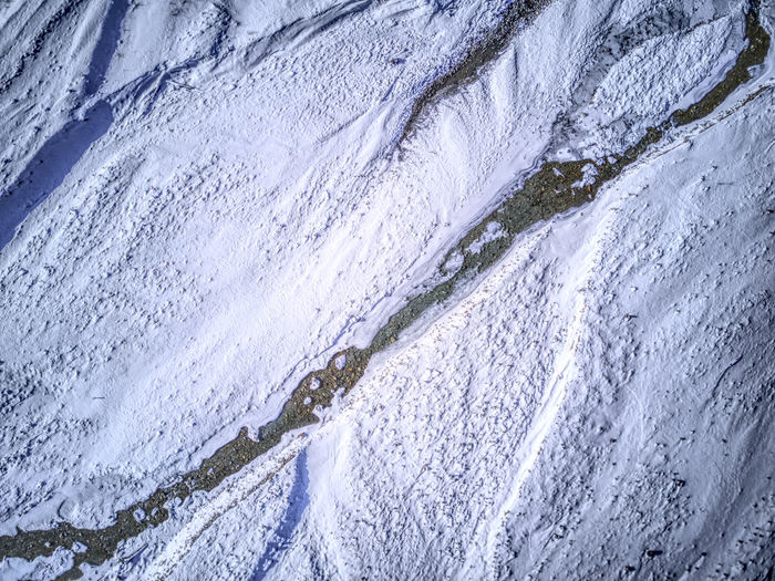 Drone  Aerial Photography Backgrounds Beauty In Nature Birdseyeview Close-up Cold Temperature Day Dronephotography Frozen Full Frame Ice Nature No People Outdoors Scenics Snow Textured  Tranquility Water Waterfall Winter
