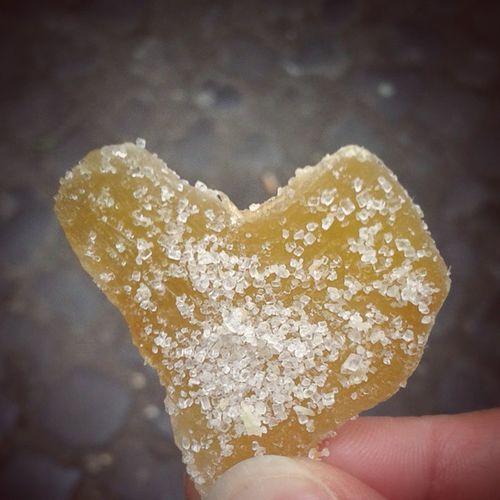 L'ennesima 'cosa' a forma di cuore...e questa volta è di zenzero e cosparsa di zucchero Vedocuoriovunque Dammitreparole Sole Cuore Amore . Aiuto Heart ❤