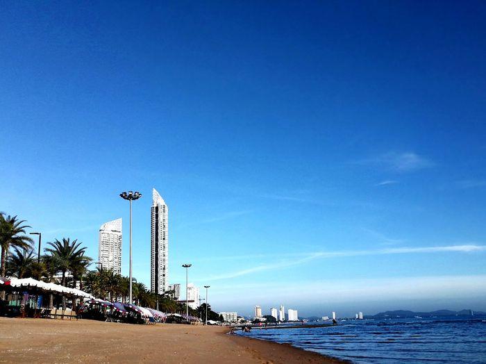 Dream it's a shot. Beach Sand Sea Sky Vacations Beauty In Nature Pataya