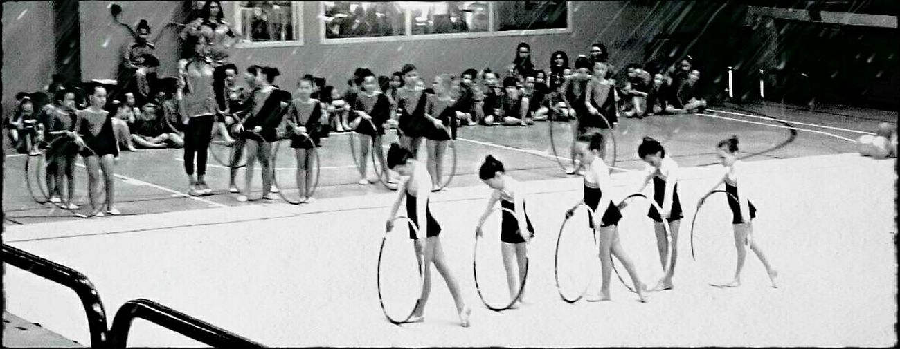 On The Move Rhythmic Gymnastics Daughters San Giovanni Lupatoto girls from Italy never give up