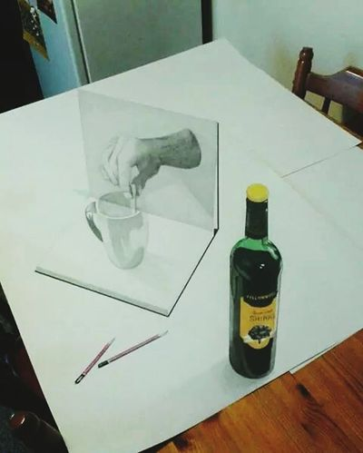 Check This Out Drawing Awesome 3D Art Amazing Art 3d drawing. ....