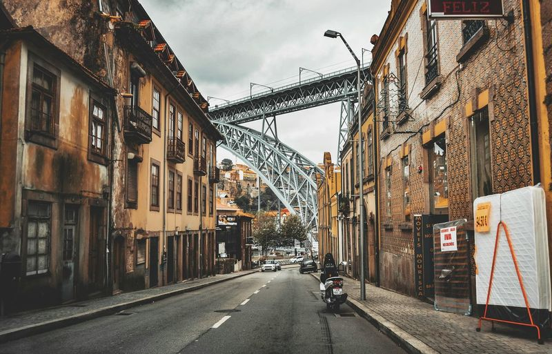 🌀 Building Exterior Built Structure Architecture Road The Way Forward Land Vehicle Street Transportation Day Car Outdoors Travel Destinations City Sky No People Hanging Out Taking Photo Porto