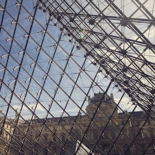 Instabookproject some say in Paris Louvre Travel soon Instagram Pyramid Glass Architecture