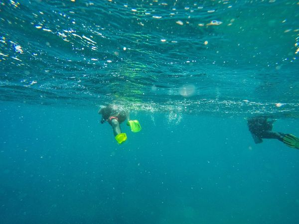 Real People Water Adventure Swimming Scuba Diving Leisure Activity Exploration Sea Underwater Lifestyles UnderSea Nature Scuba Diver Day Beauty In Nature One Person Outdoors EyeEmNewHere Connected By Travel Blue Wave Second Acts