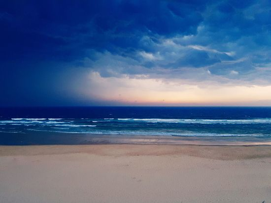 Beach Sea Horizon Over Water Sand Water Nature Scenics Sky Cloud - Sky Travel Destinations Thunderstorm Been There. Lost In The Landscape Perspectives On Nature Colour Your Horizn