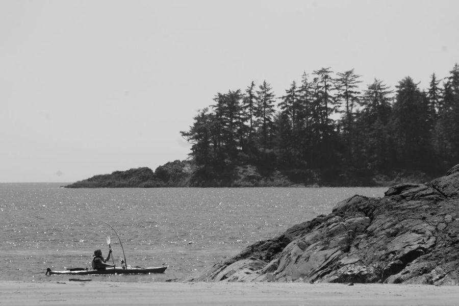 Kayak Adventures Kayaking In Nature Kayak Fishing Outdoors Paddling Paddling Scene Scenics Sea Treetops Trolling