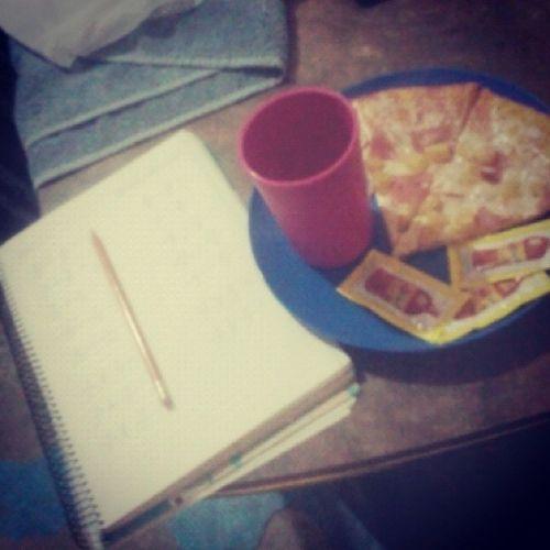 Pizza Tarea Limonada Buenasnoches✌