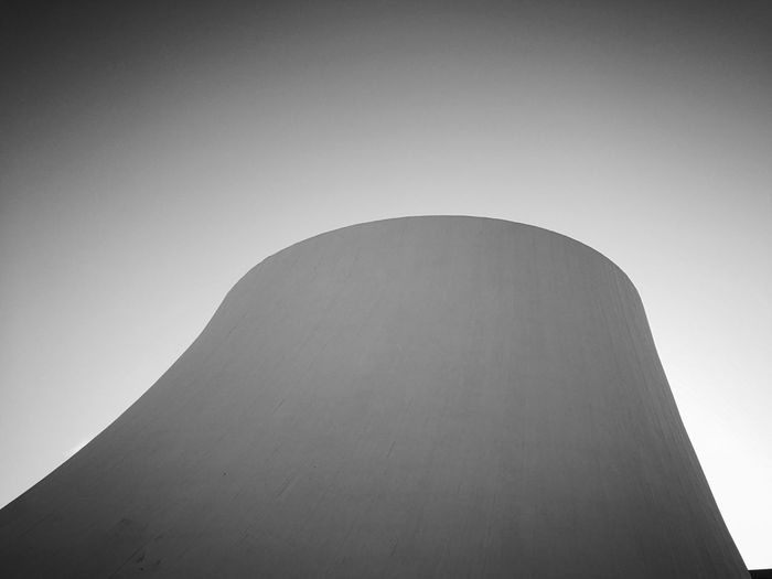 Niemeyer Monochrome Blackandwhite Contrast Light And Shadow Minimalism From My Point Of View City Architecture Built Structure Sky