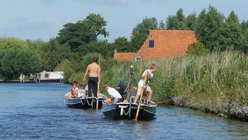 Summer in Friesland. Traveling Water_collection The Netherlands Eye4photography  Enjoying Life Going Sailing Countryside Summer