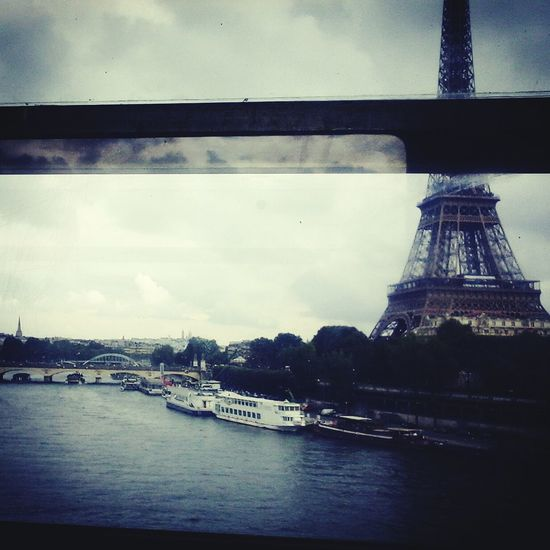 By the way Architecture Paris, France  Eiffel Tower City Of Love♡ Train Metro