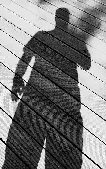 Shadow Shadowman Black & White Wood Sun Uckermark