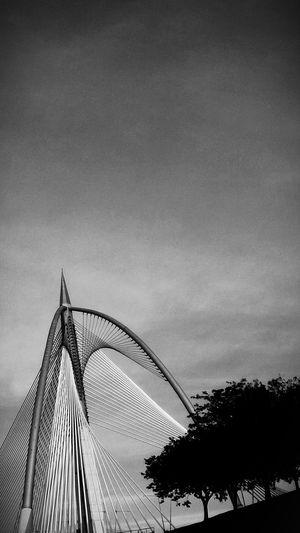 Architecture Bridge Landmark Black & White