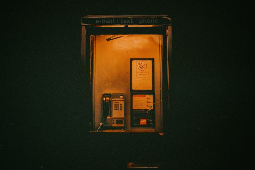 Email text phone Streetphotography Travelphotography Nightphotography Oldphonecabin darkness and light Lowlight Oldphone No People Technology Fuel And Power Generation Indoors  Close-up Orange Color Communication Night Textured  HUAWEI Photo Award: After Dark HUAWEI Photo Award: After Dark